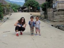 Playing w Chaing Rai Village Kids