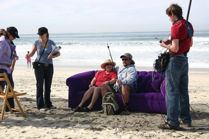 Purple Couch - San Diego 2